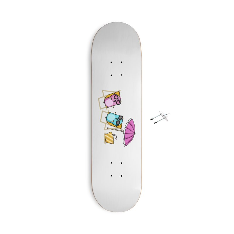 Go to beach Accessories Skateboard by Be like a Gopher