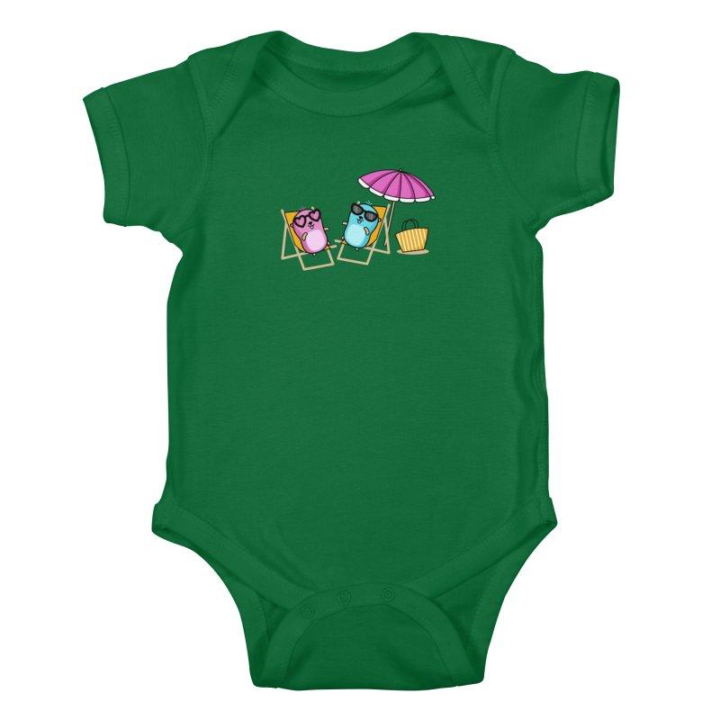 Go to beach Kids Baby Bodysuit by Be like a Gopher