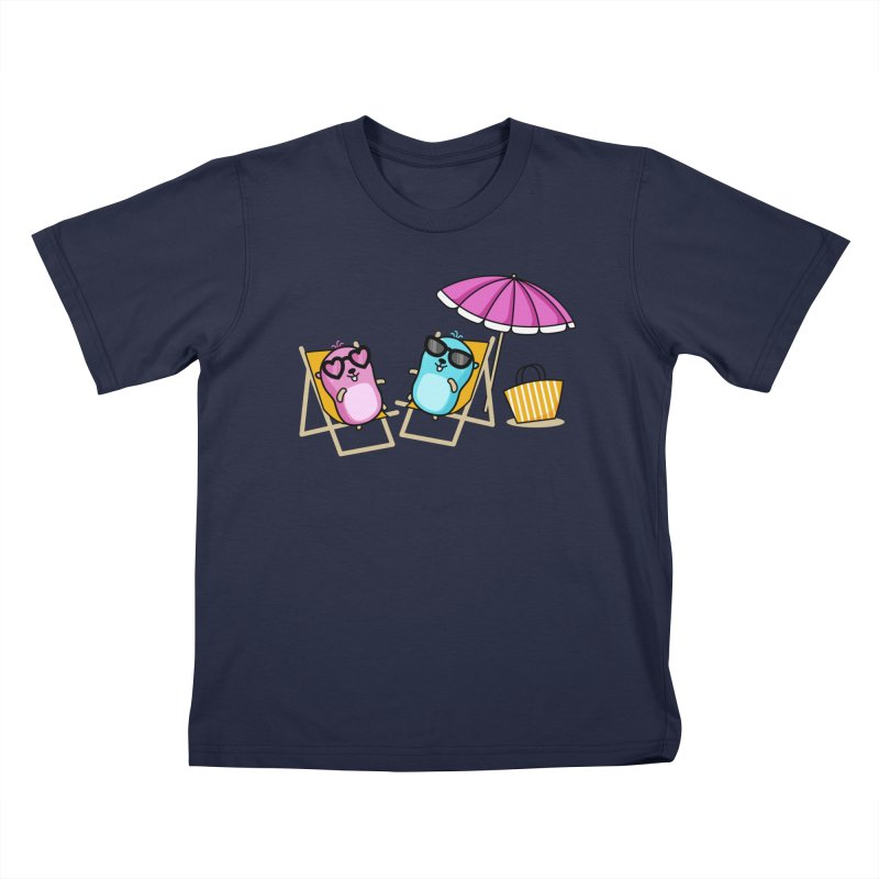 Go to beach Kids T-Shirt by Be like a Gopher