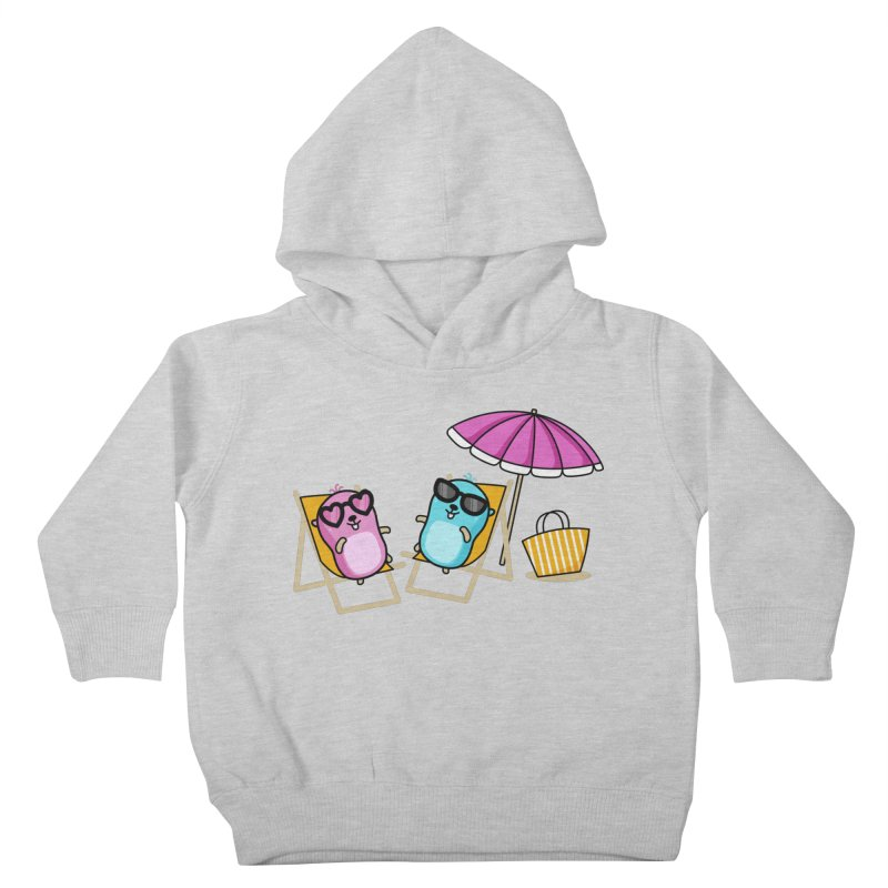 Go to beach Kids Toddler Pullover Hoody by Be like a Gopher