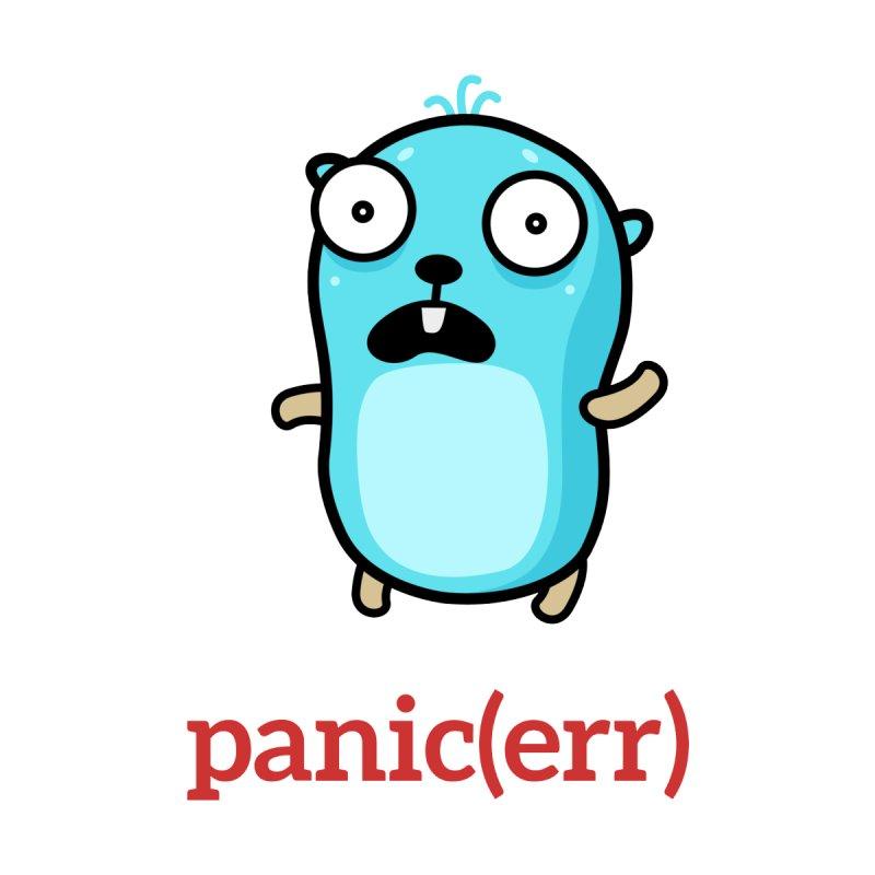 panic error Accessories Mug by Be like a Gopher