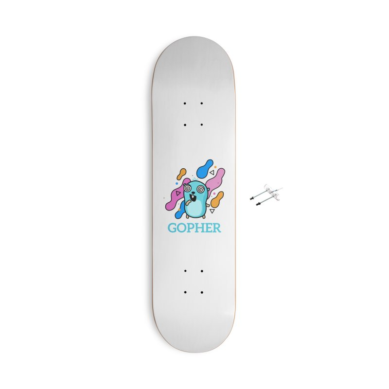 Space gopher Accessories Skateboard by Be like a Gopher
