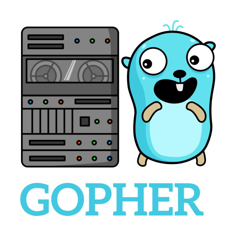Gopher and server Accessories Bag by Be like a Gopher