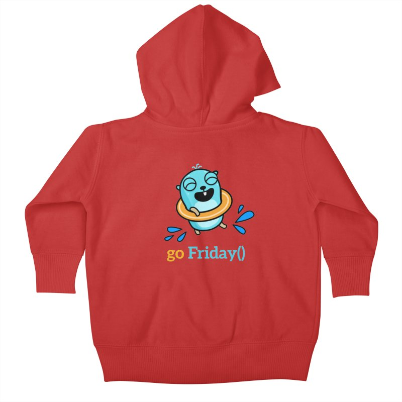 go Friday() Kids Baby Zip-Up Hoody by Be like a Gopher