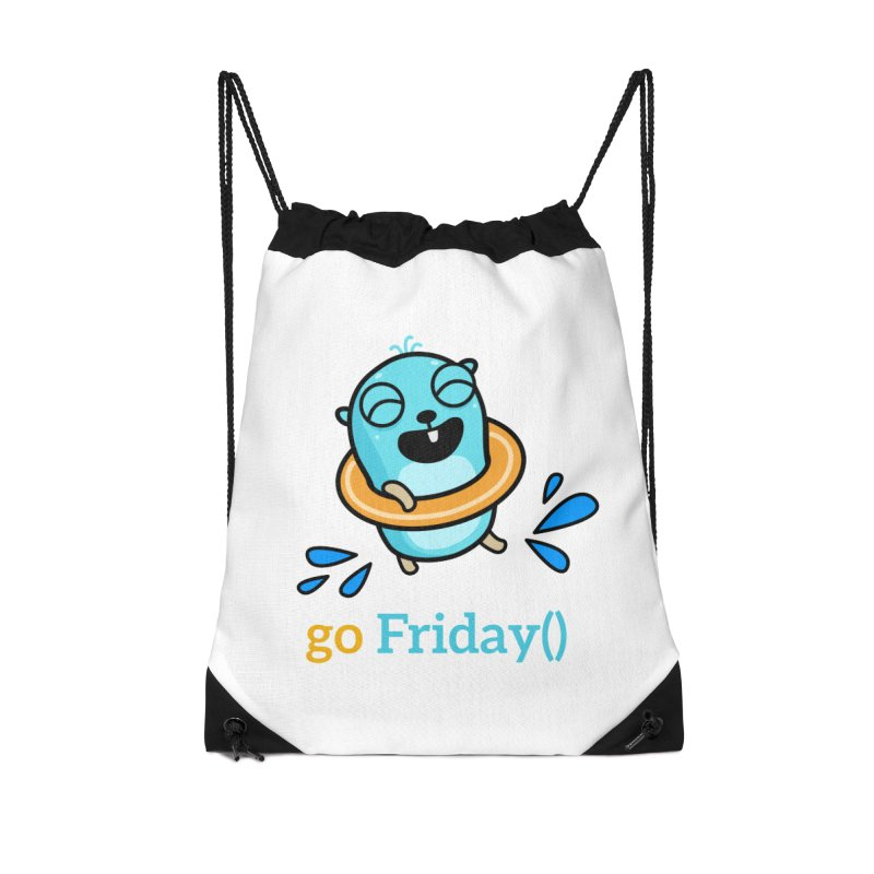 go Friday() Accessories Bag by Be like a Gopher