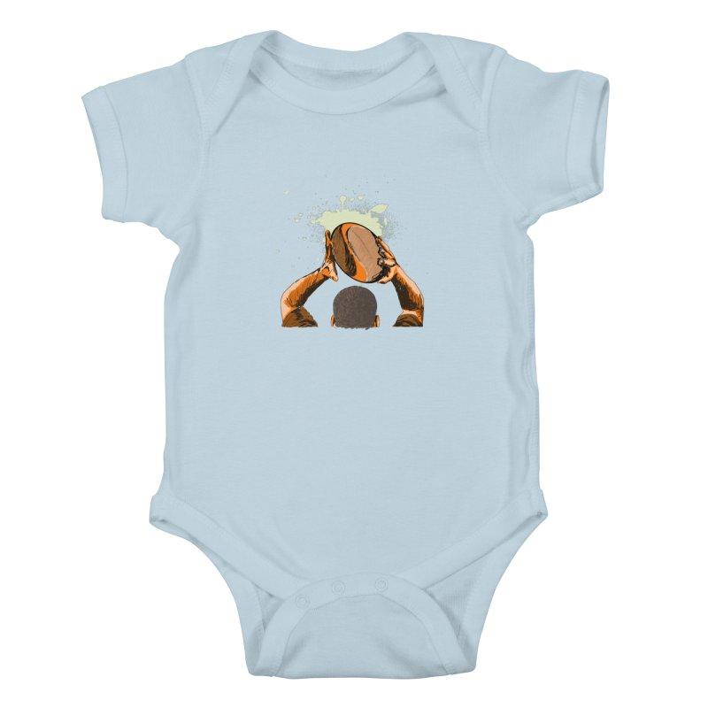 T. N. J. RUGBY Kids Baby Bodysuit by goreccs's Artist Shop