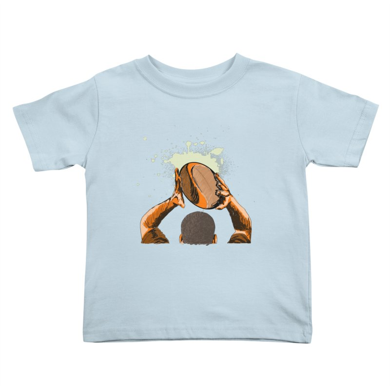 T. N. J. RUGBY Kids Toddler T-Shirt by goreccs's Artist Shop