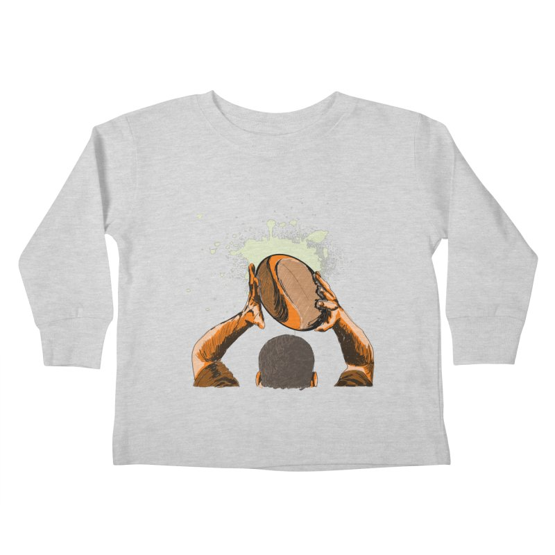 T. N. J. RUGBY Kids Toddler Longsleeve T-Shirt by goreccs's Artist Shop