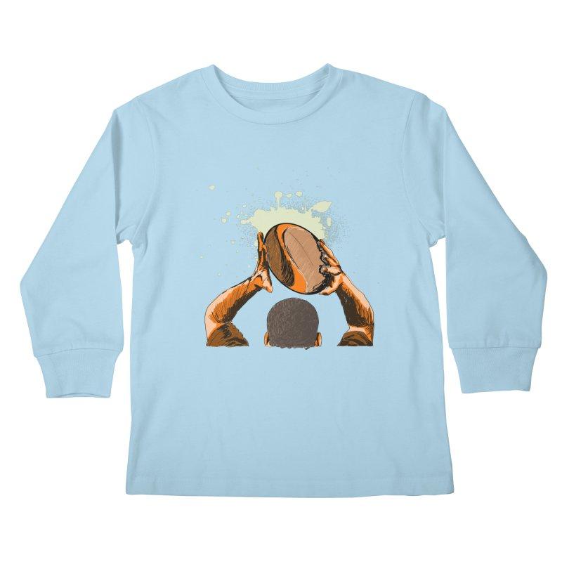 T. N. J. RUGBY Kids Longsleeve T-Shirt by goreccs's Artist Shop