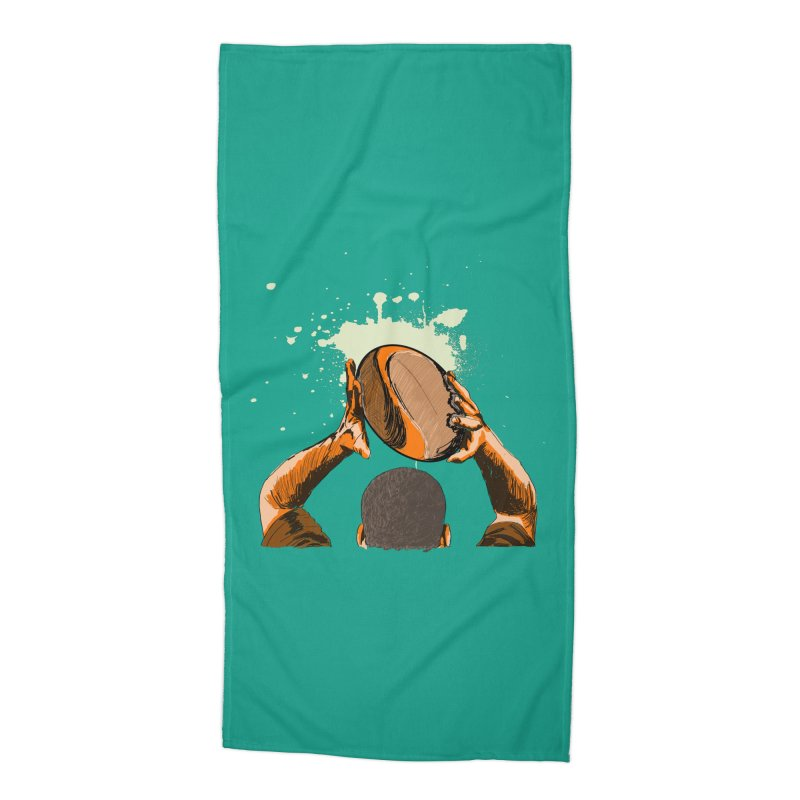 T. N. J. RUGBY Accessories Beach Towel by goreccs's Artist Shop
