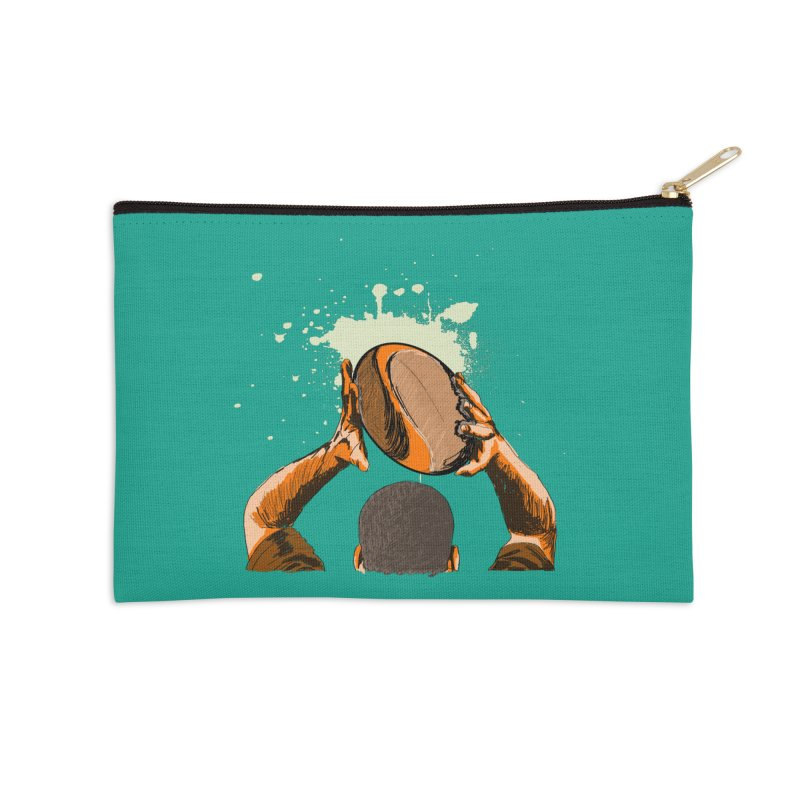 T. N. J. RUGBY Accessories Zip Pouch by goreccs's Artist Shop