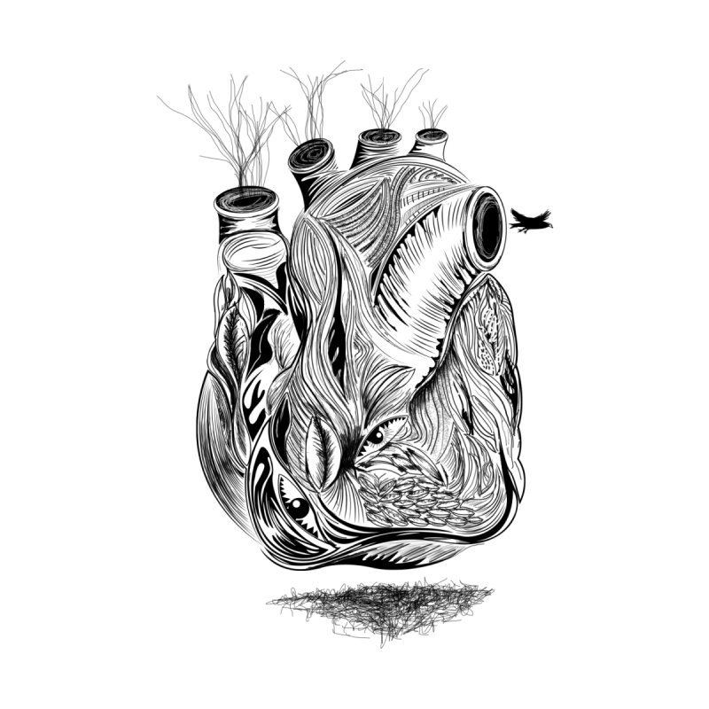 Dry Heart None  by goreccs's Artist Shop