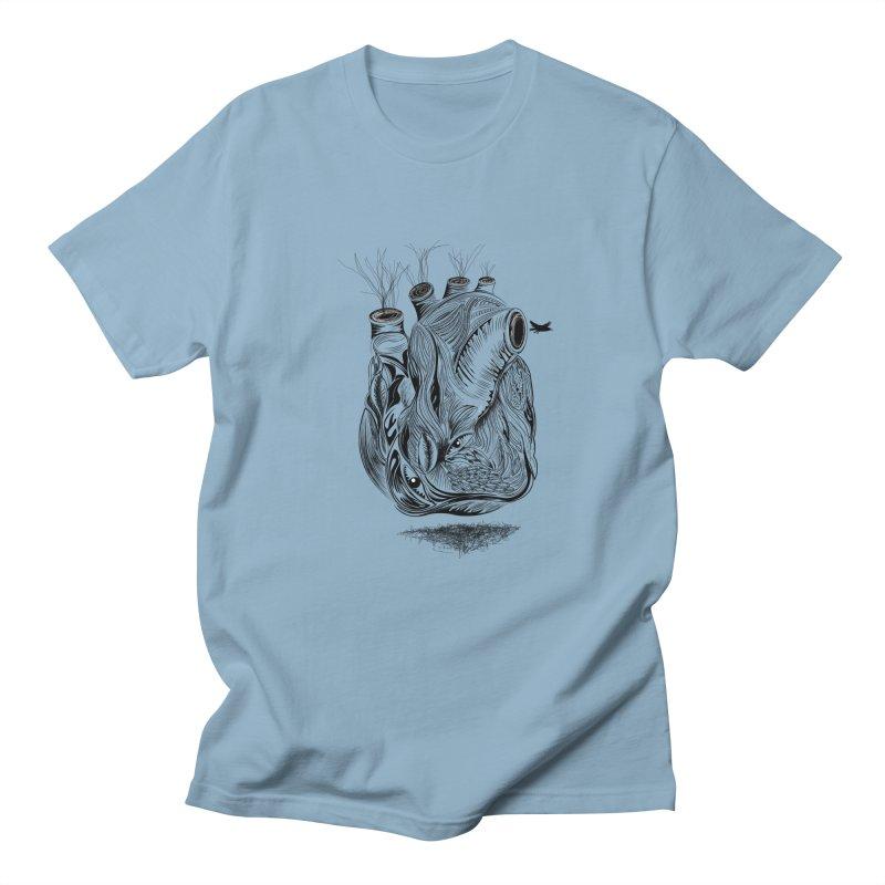 Dry Heart Women's Unisex T-Shirt by goreccs's Artist Shop