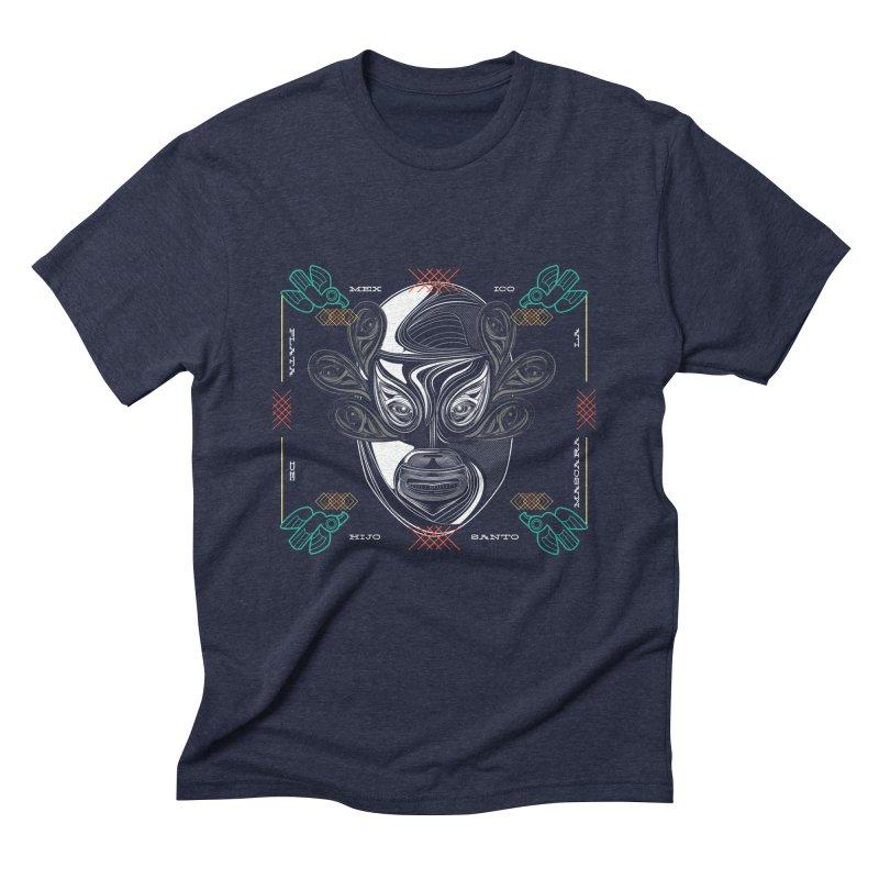 El Hijo del Santo Men's Triblend T-Shirt by goreccs's Artist Shop