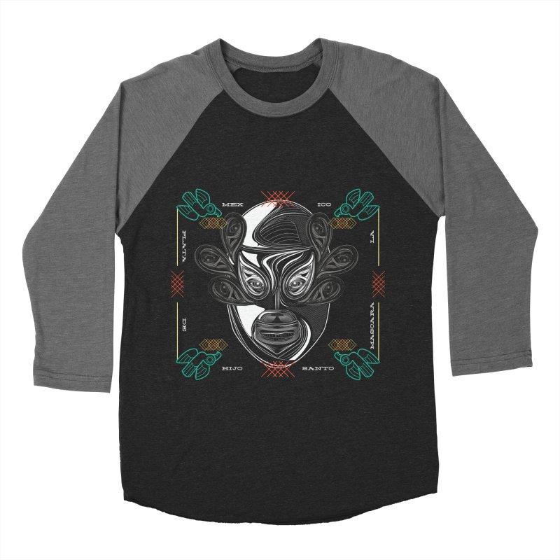 El Hijo del Santo Men's Baseball Triblend T-Shirt by goreccs's Artist Shop