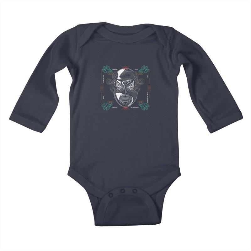 El Hijo del Santo Kids Baby Longsleeve Bodysuit by goreccs's Artist Shop