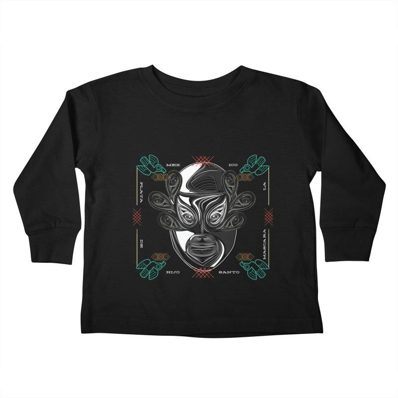 El Hijo del Santo Kids Toddler Longsleeve T-Shirt by goreccs's Artist Shop