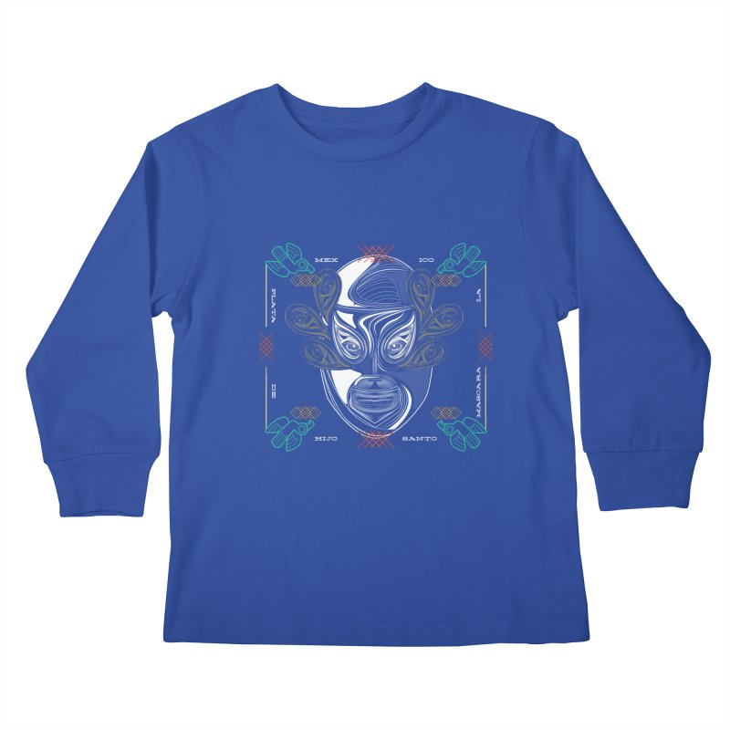 El Hijo del Santo Kids Longsleeve T-Shirt by goreccs's Artist Shop