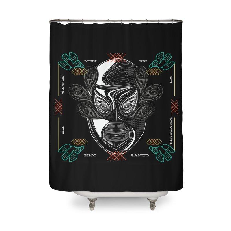 El Hijo del Santo Home Shower Curtain by goreccs's Artist Shop