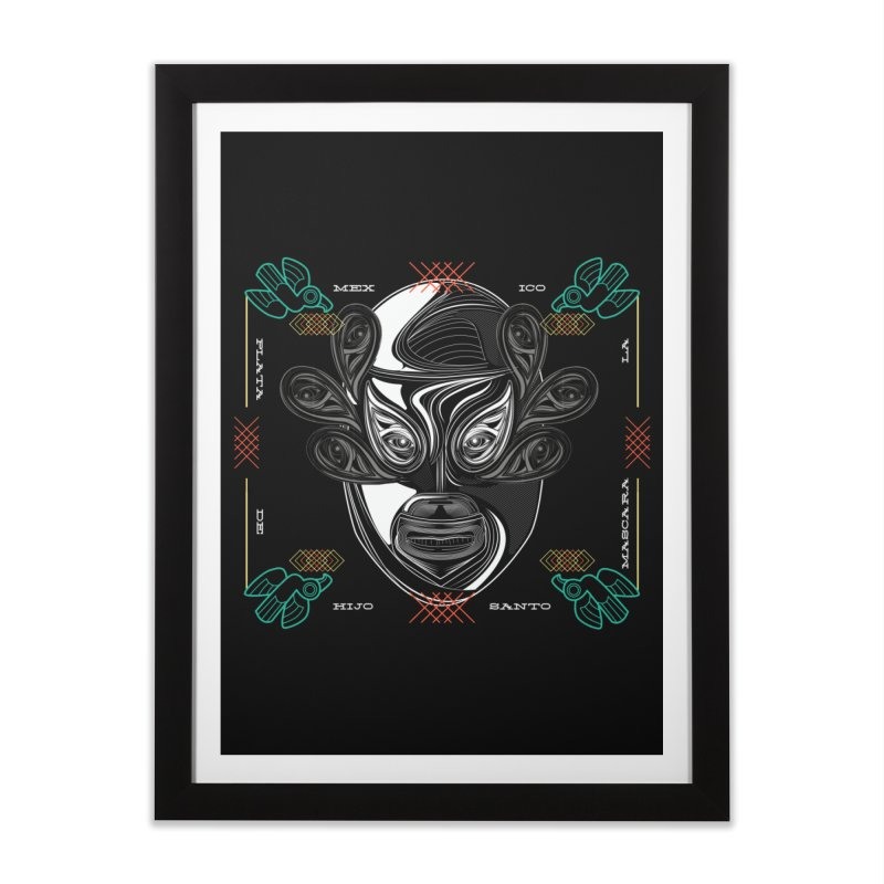 El Hijo del Santo Home Framed Fine Art Print by goreccs's Artist Shop