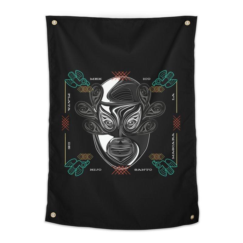 El Hijo del Santo Home Tapestry by goreccs's Artist Shop