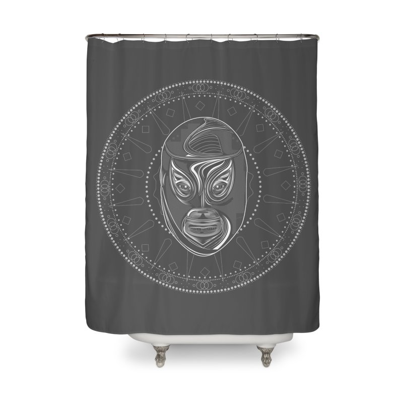 El Hijo del Santo II Home Shower Curtain by goreccs's Artist Shop
