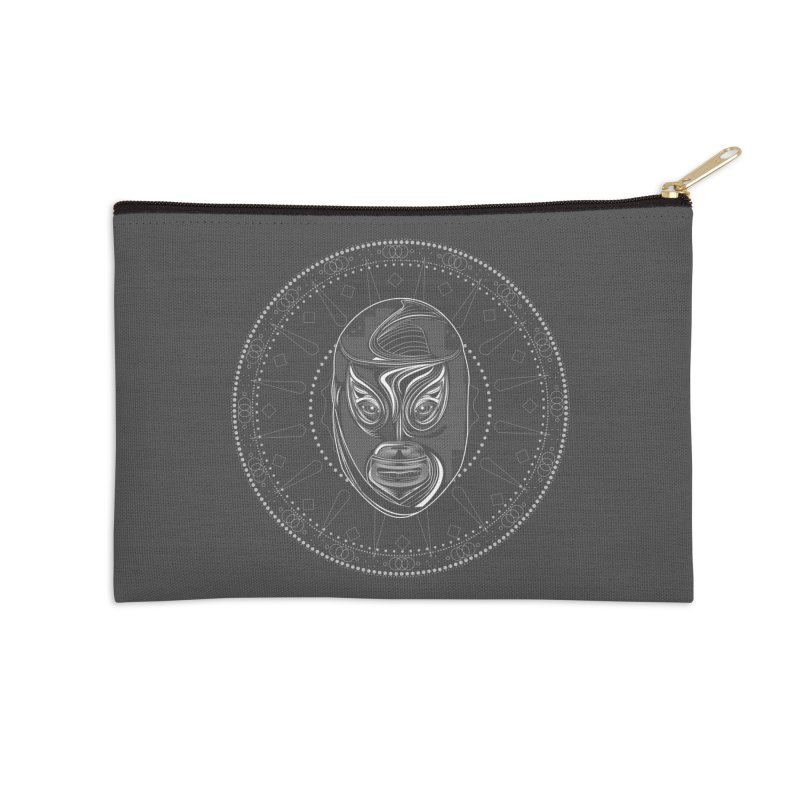 El Hijo del Santo II Accessories Zip Pouch by goreccs's Artist Shop