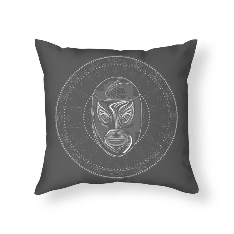 El Hijo del Santo II Home Throw Pillow by goreccs's Artist Shop