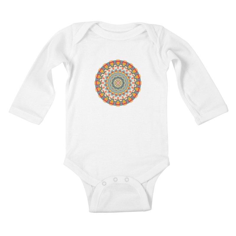 wayuu dala Kids Baby Longsleeve Bodysuit by goreccs's Artist Shop