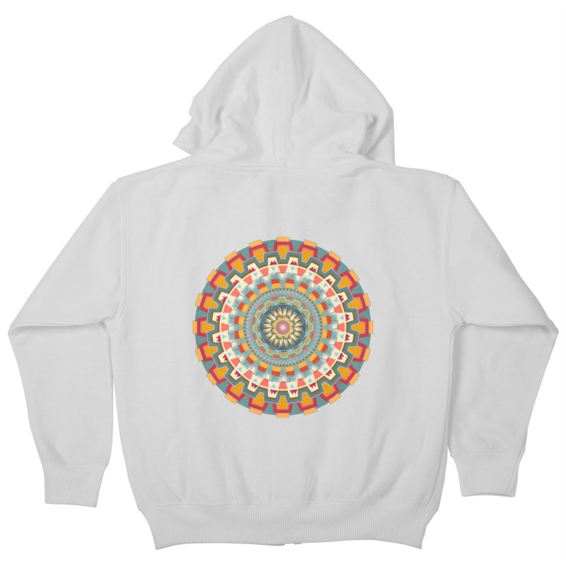 wayuu dala Kids Zip-Up Hoody by goreccs's Artist Shop
