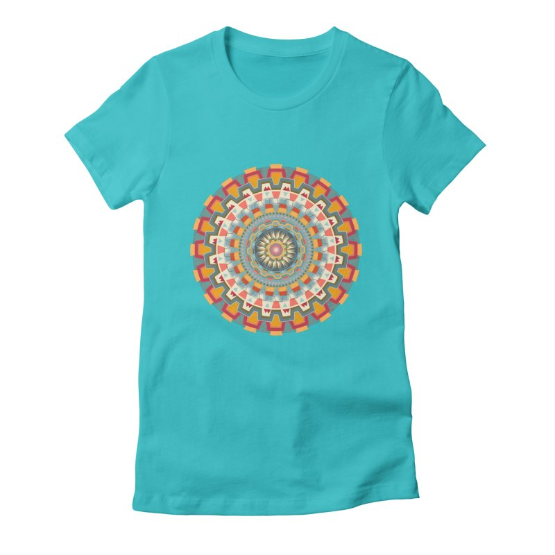 wayuu dala Women's Fitted T-Shirt by goreccs's Artist Shop
