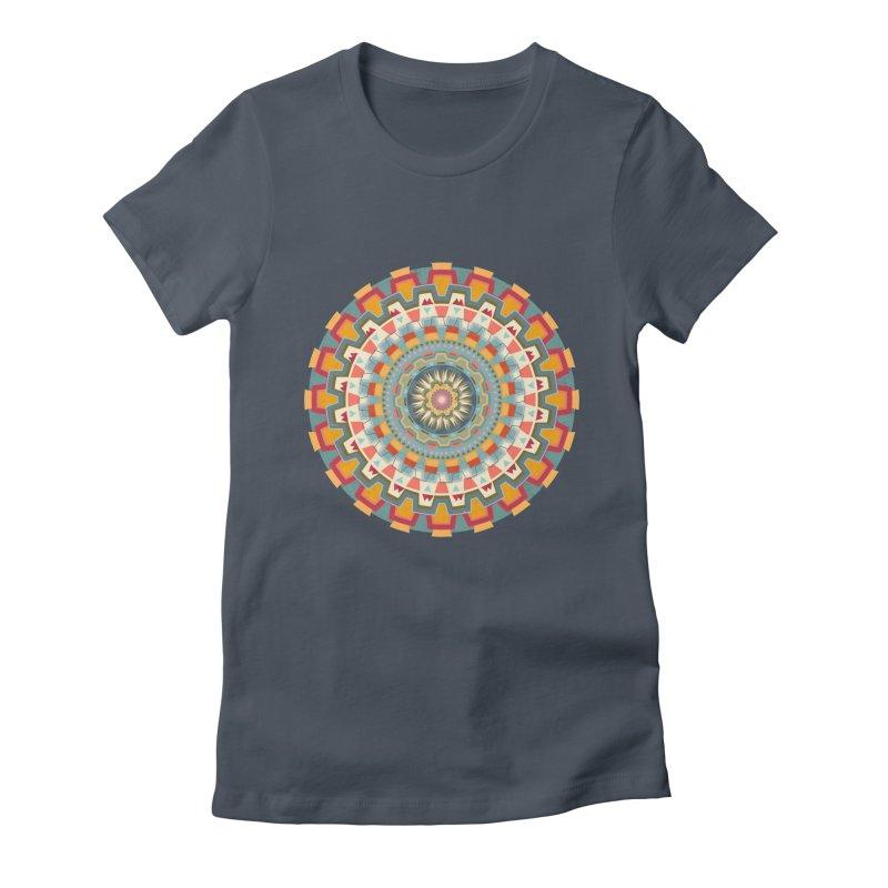 wayuu dala Women's Fitted T-Shirt by goreccs's Artist Shop