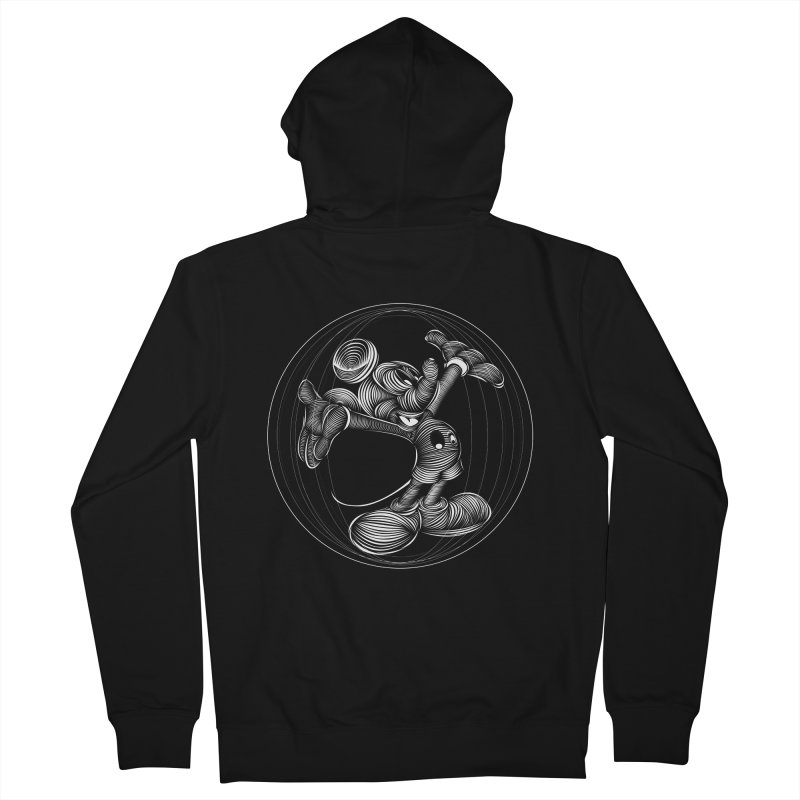 Mickey The Mouse Men's Zip-Up Hoody by goreccs's Artist Shop