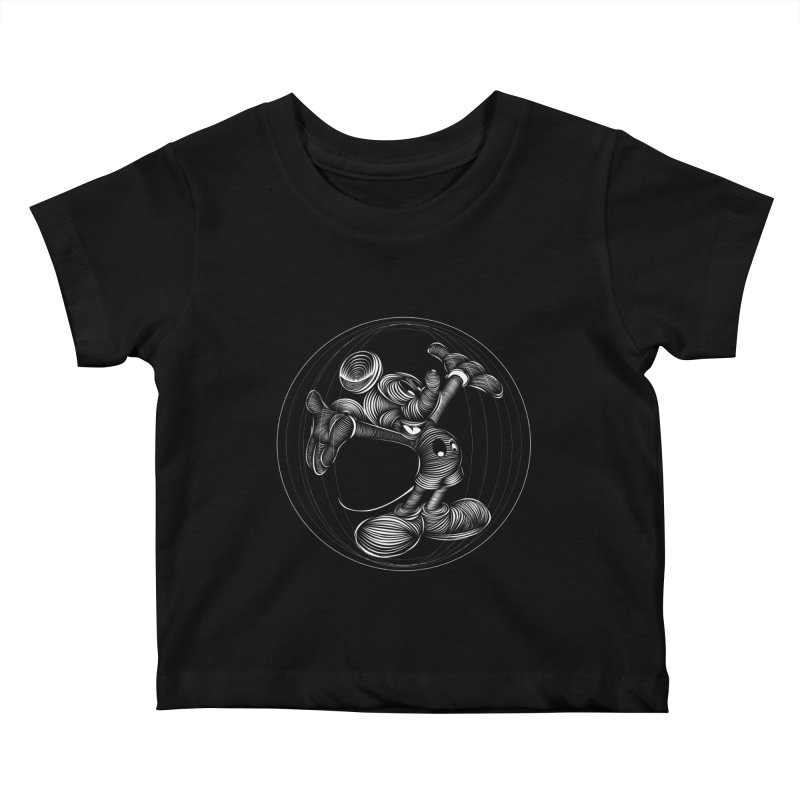 Mickey The Mouse Kids Baby T-Shirt by goreccs's Artist Shop