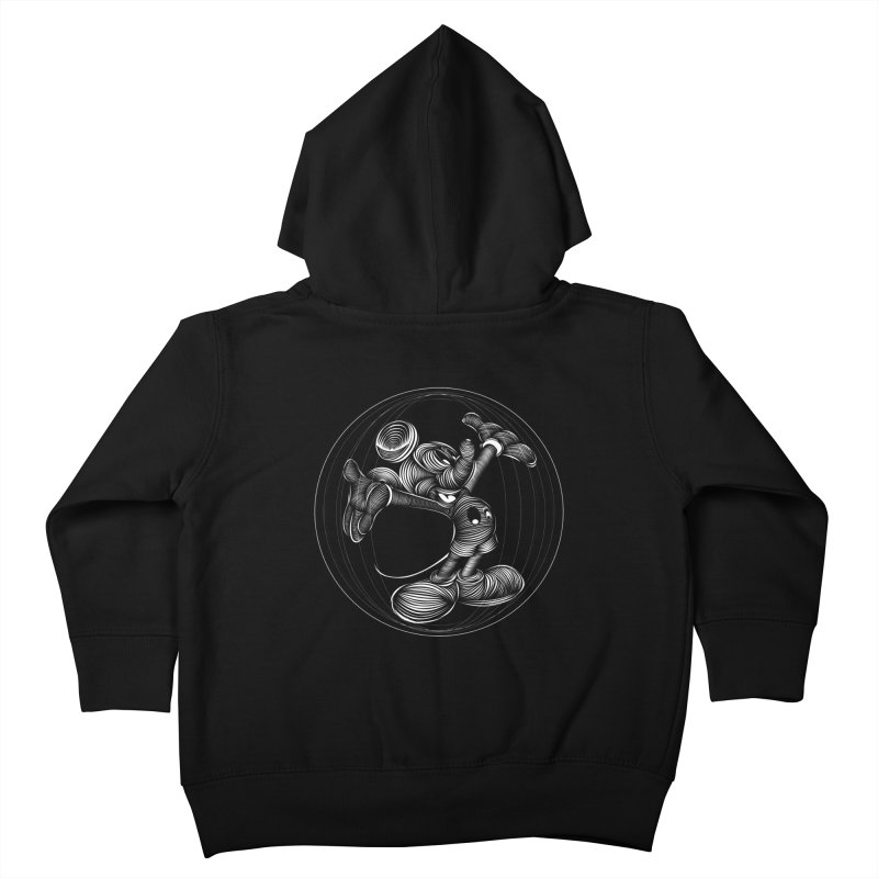 Mickey The Mouse Kids Toddler Zip-Up Hoody by goreccs's Artist Shop