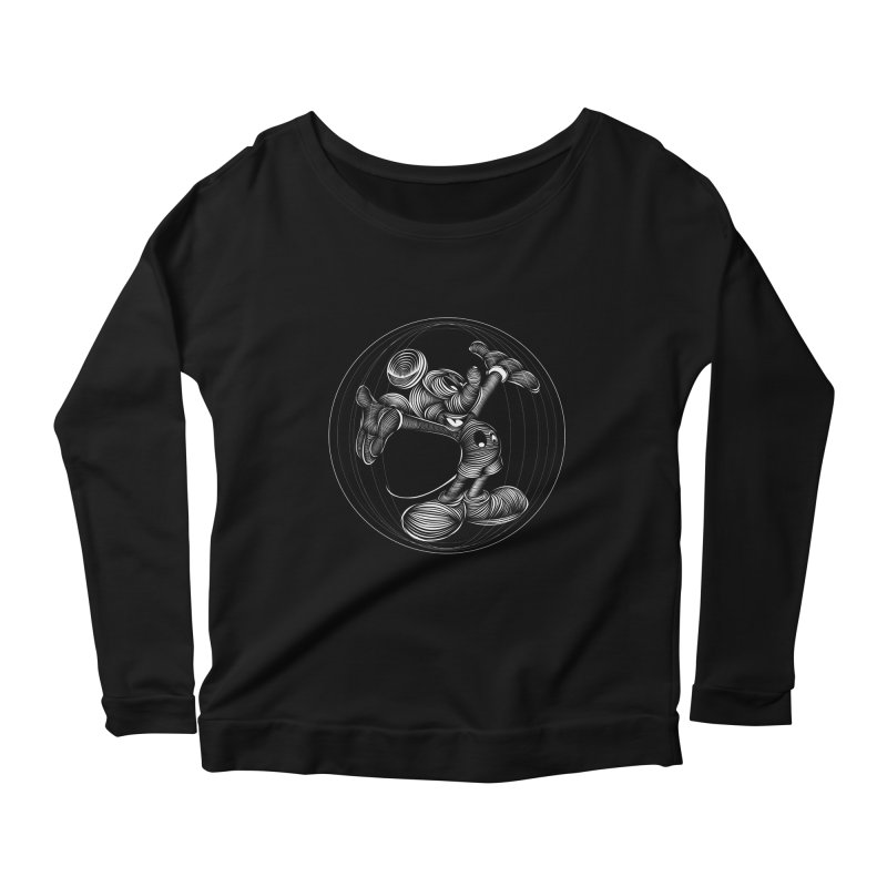 Mickey The Mouse Women's Longsleeve Scoopneck  by goreccs's Artist Shop