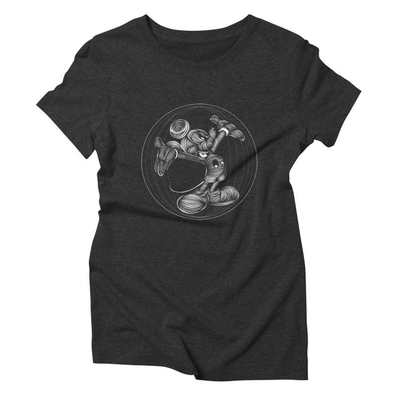 Mickey The Mouse Women's Triblend T-shirt by goreccs's Artist Shop