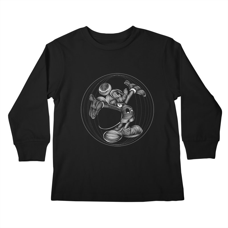 Mickey The Mouse Kids Longsleeve T-Shirt by goreccs's Artist Shop