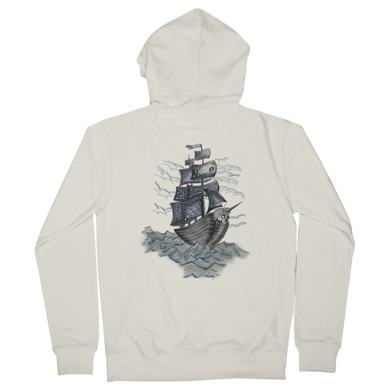 Jerry Style Men's Zip-Up Hoody by goreccs's Artist Shop
