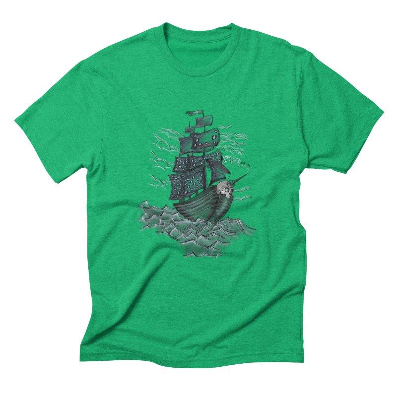 Jerry Style Men's Triblend T-Shirt by goreccs's Artist Shop