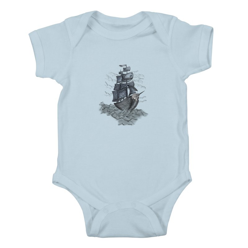 Jerry Style Kids Baby Bodysuit by goreccs's Artist Shop