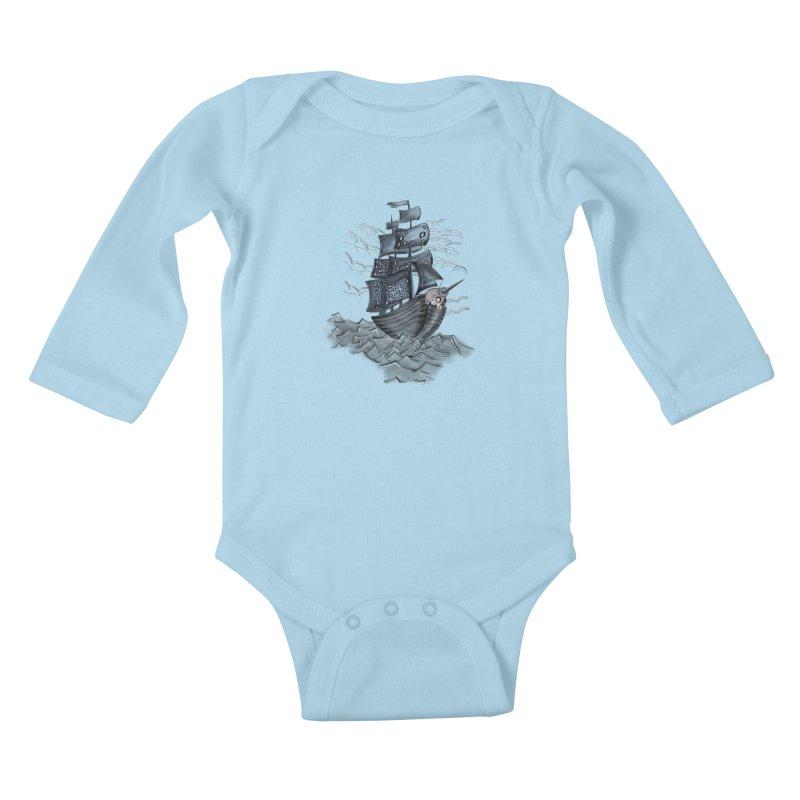 Jerry Style Kids Baby Longsleeve Bodysuit by goreccs's Artist Shop