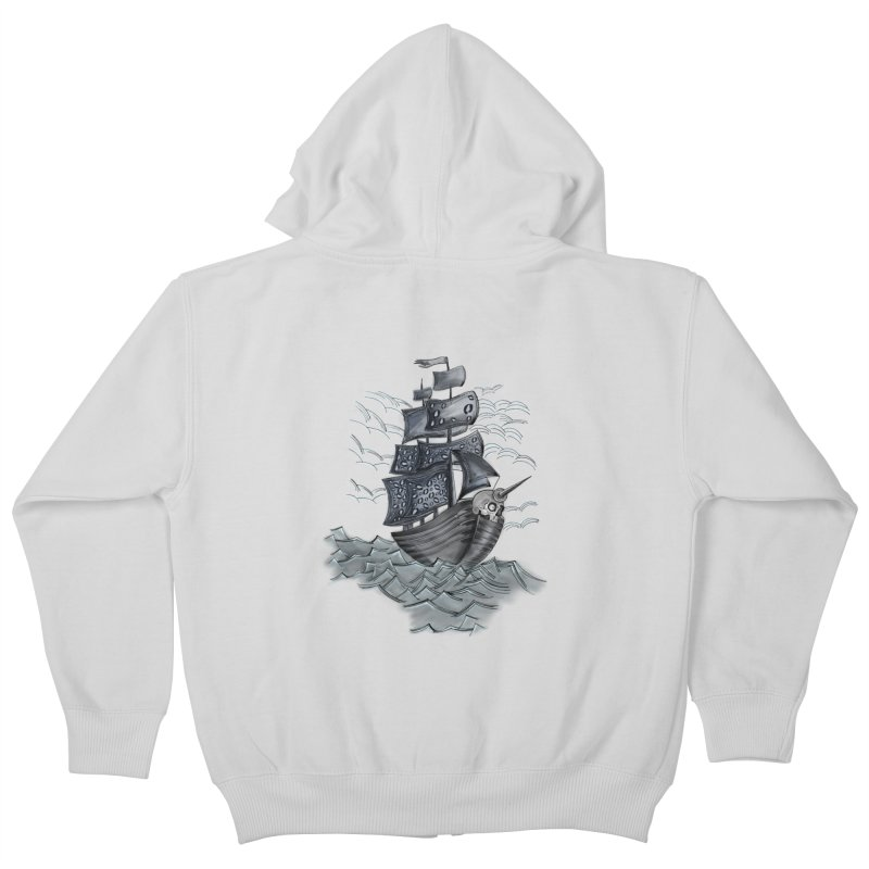 Jerry Style Kids Zip-Up Hoody by goreccs's Artist Shop