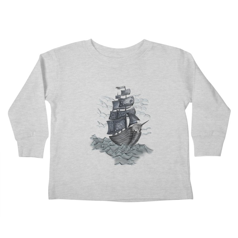 Jerry Style Kids Toddler Longsleeve T-Shirt by goreccs's Artist Shop