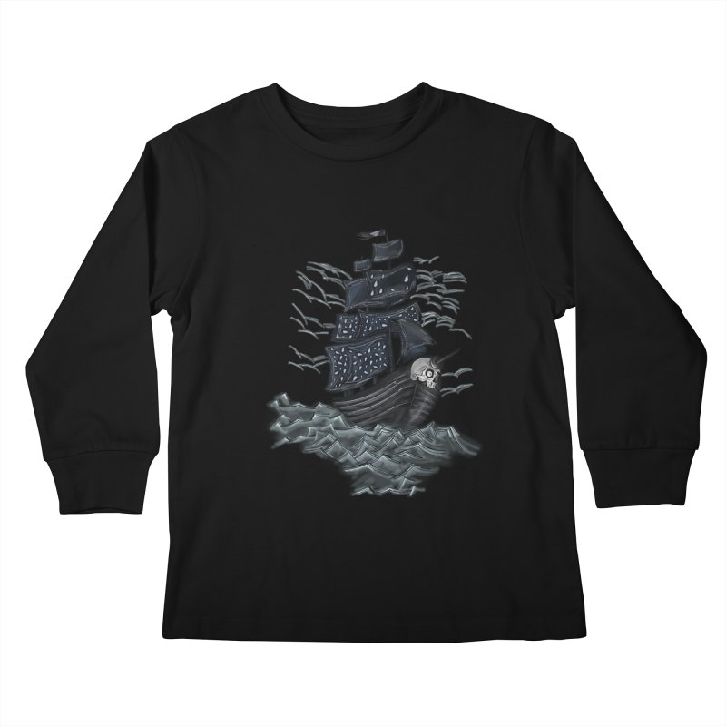 Jerry Style Kids Longsleeve T-Shirt by goreccs's Artist Shop