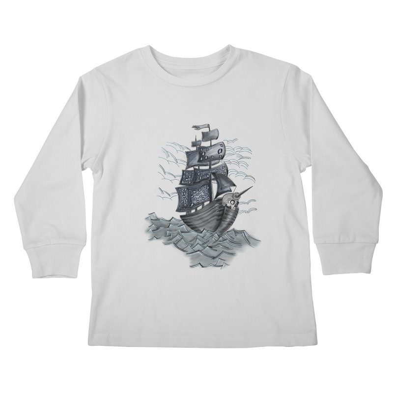 Jerry Style Kids Longsleeve T-Shirt by goreccs's Artist Shop