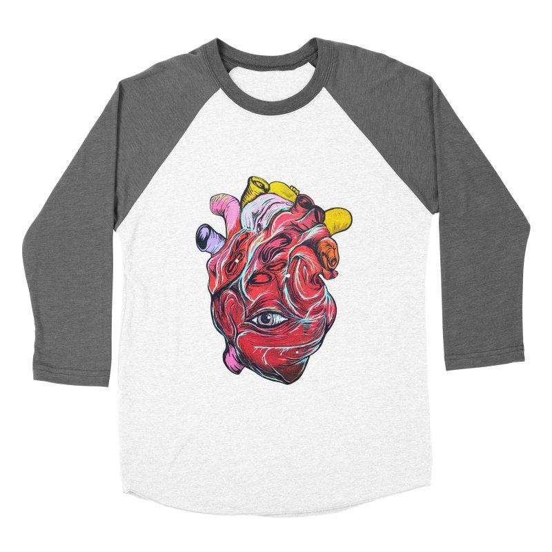 Corazon Gauchiman Women's Baseball Triblend T-Shirt by goreccs's Artist Shop