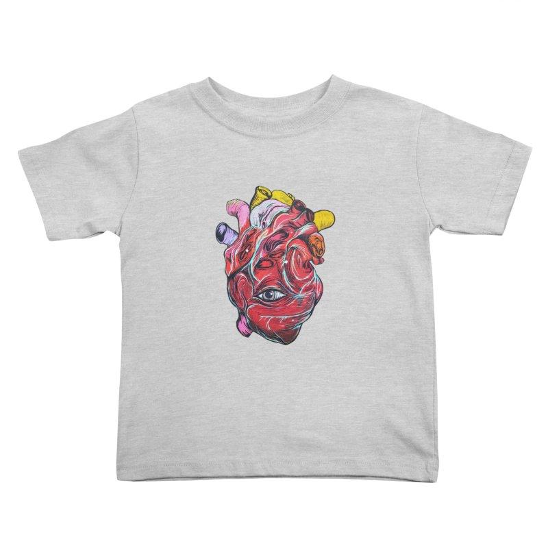 Corazon Gauchiman Kids Toddler T-Shirt by goreccs's Artist Shop