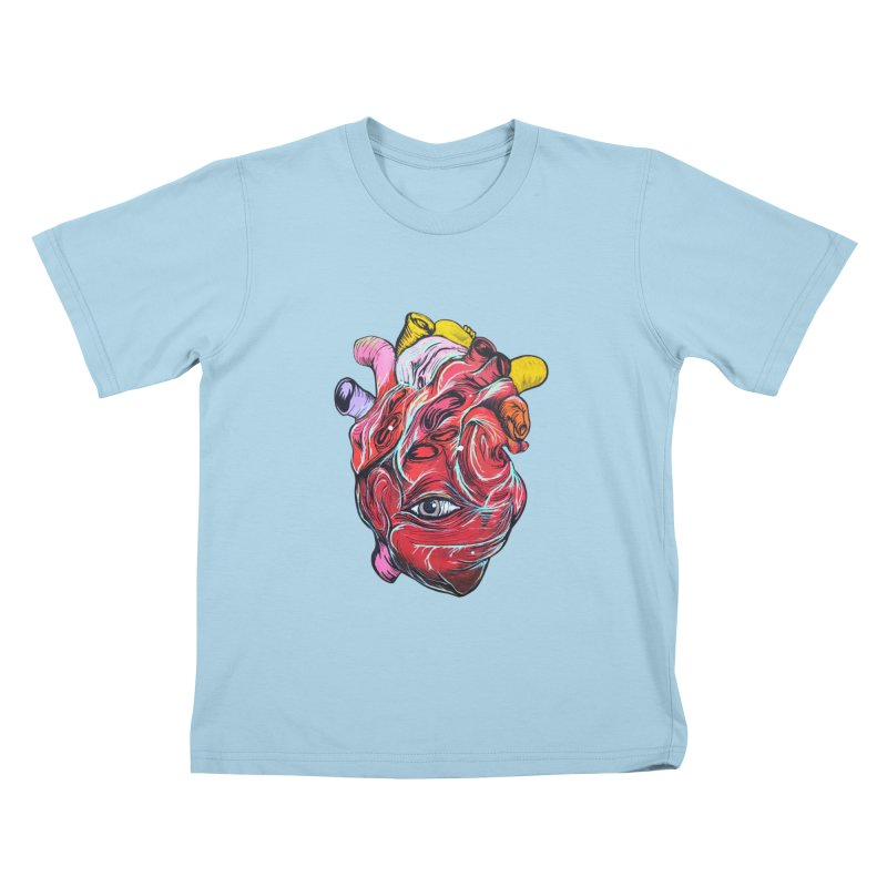 Corazon Gauchiman Kids T-Shirt by goreccs's Artist Shop