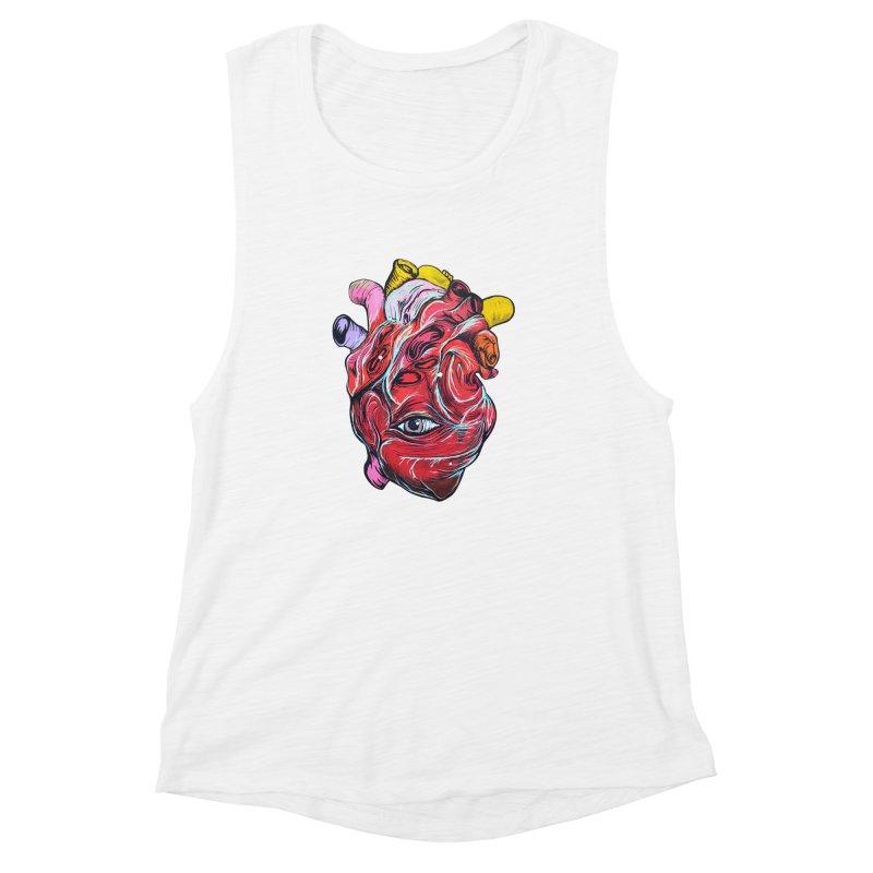 Corazon Gauchiman Women's Muscle Tank by goreccs's Artist Shop